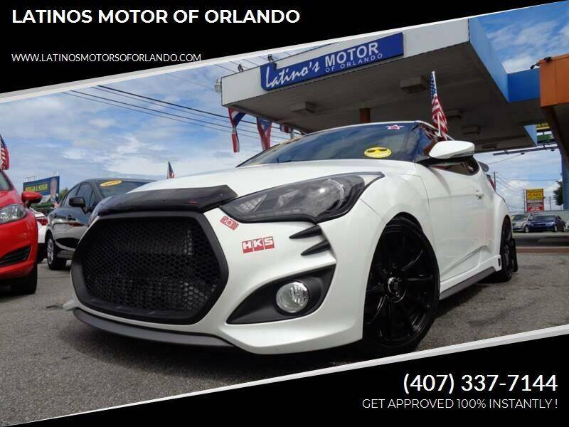 2015 Hyundai Veloster for sale at LATINOS MOTOR OF ORLANDO in Orlando FL