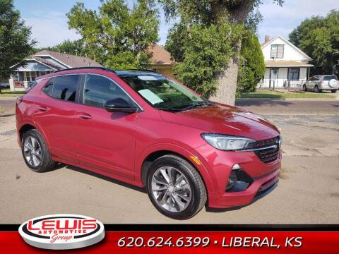 2021 Buick Encore GX for sale at Lewis Chevrolet Buick of Liberal in Liberal KS
