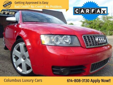 2004 Audi S4 for sale at Columbus Luxury Cars in Columbus OH
