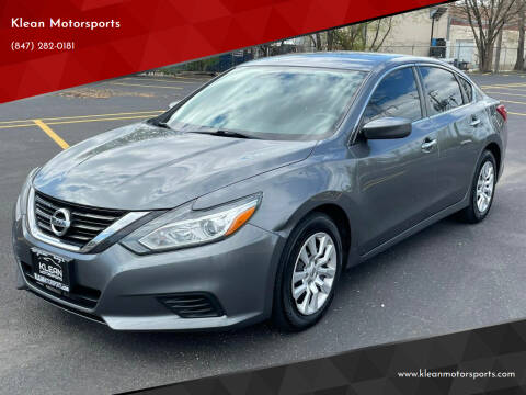 2016 Nissan Altima for sale at Klean Motorsports in Skokie IL