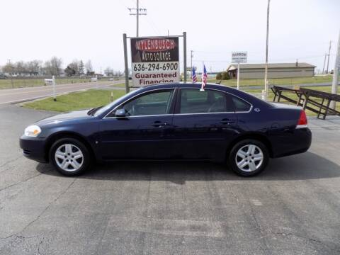 2007 Chevrolet Impala for sale at MYLENBUSCH AUTO SOURCE in O` Fallon MO