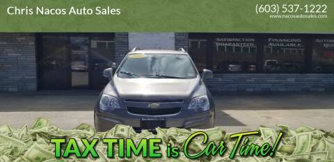 2012 Chevrolet Captiva Sport for sale at Chris Nacos Auto Sales in Derry NH
