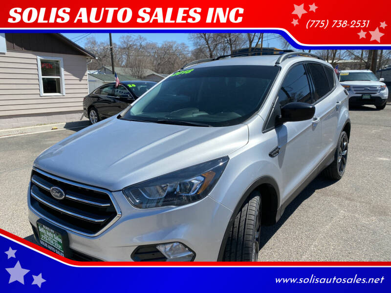 2018 Ford Escape for sale at SOLIS AUTO SALES INC in Elko NV