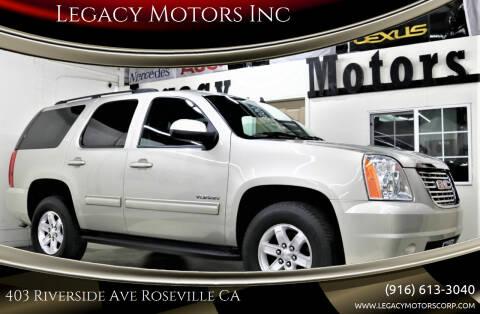 2014 GMC Yukon for sale at Legacy Motors Inc in Roseville CA