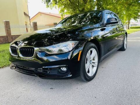2016 BMW 3 Series for sale at Imperial Capital Cars Inc in Miramar FL