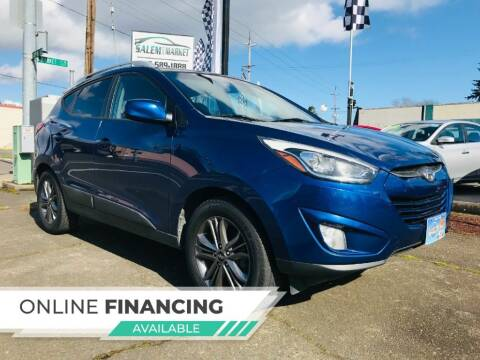 2014 Hyundai Tucson for sale at Salem Auto Market in Salem OR