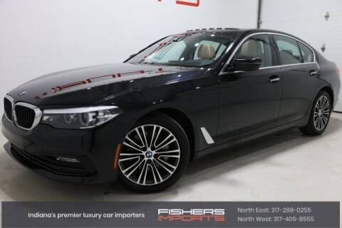 2017 BMW 5 Series for sale at Fishers Imports in Fishers IN