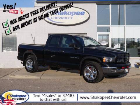 2003 Dodge Ram Pickup 1500 for sale at SHAKOPEE CHEVROLET in Shakopee MN
