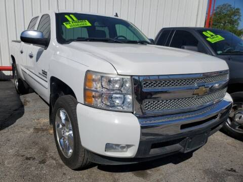 2011 Chevrolet Silverado 1500 for sale at USA Auto Brokers in Houston TX