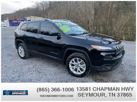 2017 Jeep Cherokee for sale at Union Motors in Seymour TN