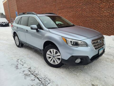 2017 Subaru Outback for sale at Minnesota Auto Sales in Golden Valley MN