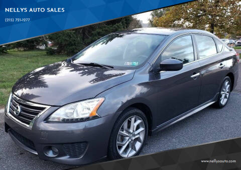 2013 Nissan Sentra for sale at NELLYS AUTO SALES in Souderton PA