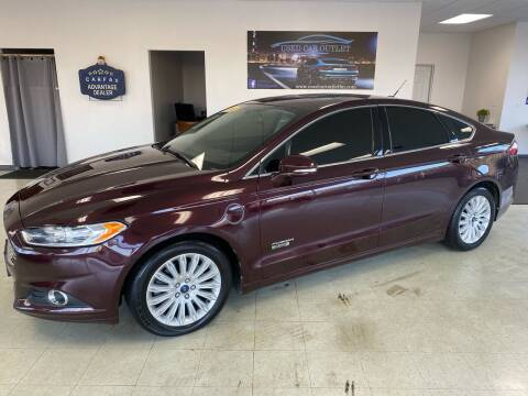 2013 Ford Fusion Energi for sale at Used Car Outlet in Bloomington IL