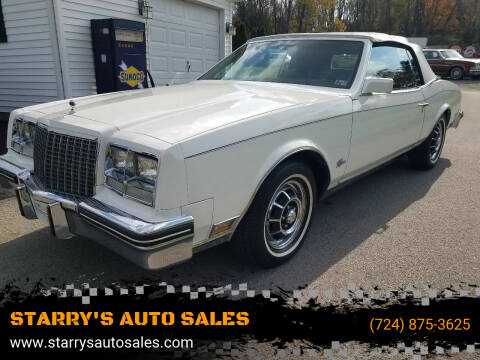 1982 Buick Riviera for sale at STARRY'S AUTO SALES in New Alexandria PA