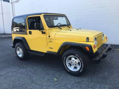 2001 Jeep Wrangler for sale at LUXURY IMPORTS AUTO SALES INC in North Branch MN