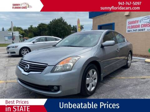 2008 Nissan Altima for sale at Sunny Florida Cars in Bradenton FL