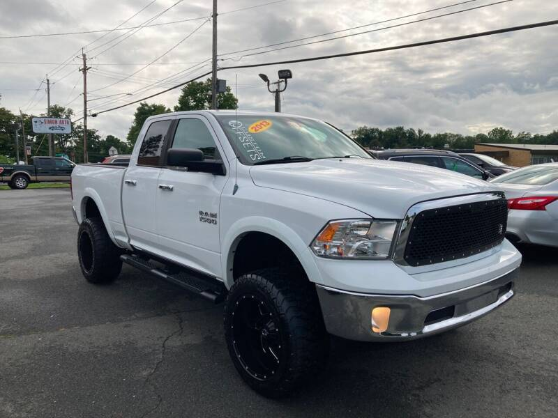 2013 RAM Ram Pickup 1500 for sale at JERRY SIMON AUTO SALES in Cambridge NY