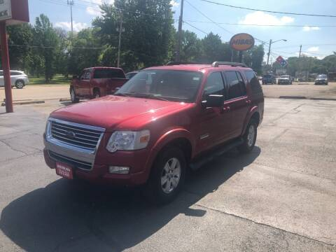 2008 Ford Explorer for sale at Parkside Auto Sales & Service in Pekin IL