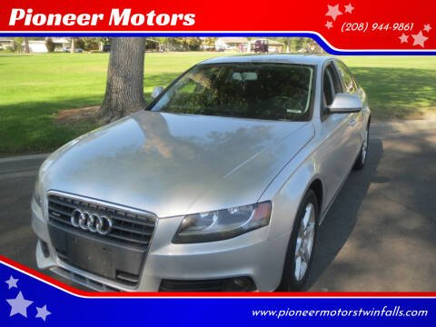 2009 Audi A4 for sale at Pioneer Motors in Twin Falls ID
