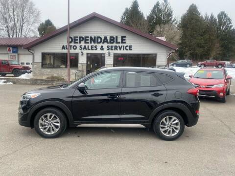 2017 Hyundai Tucson for sale at Dependable Auto Sales and Service in Binghamton NY