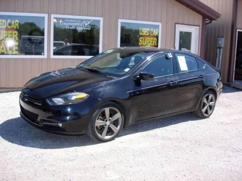 2015 Dodge Dart for sale at Greg Vallett Auto Sales in Steeleville IL
