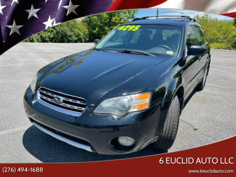 2005 Subaru Outback for sale at 6 Euclid Auto LLC in Bristol VA