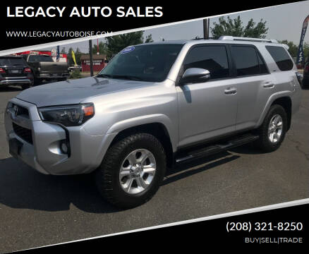 2016 Toyota 4Runner for sale at LEGACY AUTO SALES in Boise ID