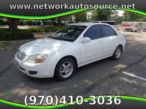 2007 Kia Spectra for sale at Network Auto Source in Loveland CO