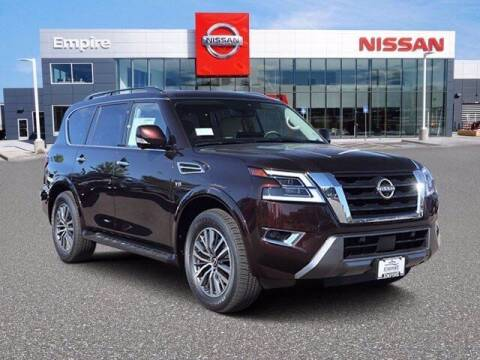 2021 Nissan Armada for sale at EMPIRE LAKEWOOD NISSAN in Lakewood CO