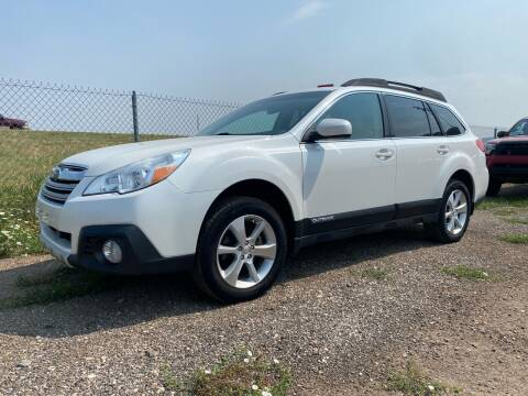 2013 Subaru Outback for sale at FAST LANE AUTOS in Spearfish SD