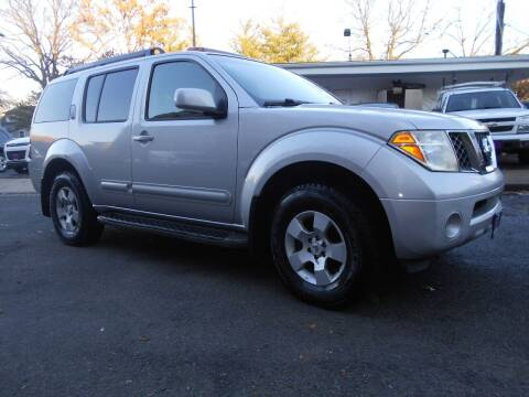 2007 Nissan Pathfinder for sale at H & R Auto in Arlington VA