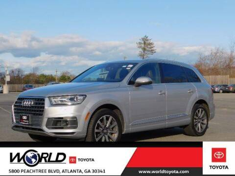 2017 Audi Q7 for sale at CU Carfinders in Norcross GA