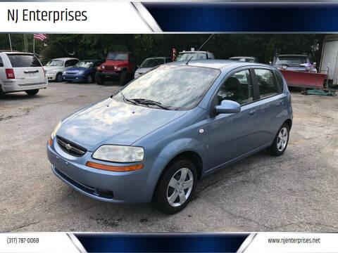 2008 Chevrolet Aveo for sale at NJ Enterprises in Indianapolis IN