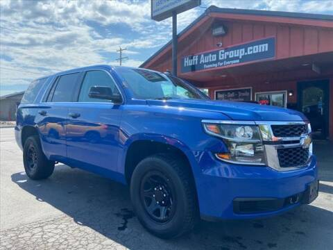 2016 Chevrolet Tahoe for sale at HUFF AUTO GROUP in Jackson MI
