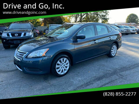 2013 Nissan Sentra for sale at Drive and Go, Inc. in Hickory NC