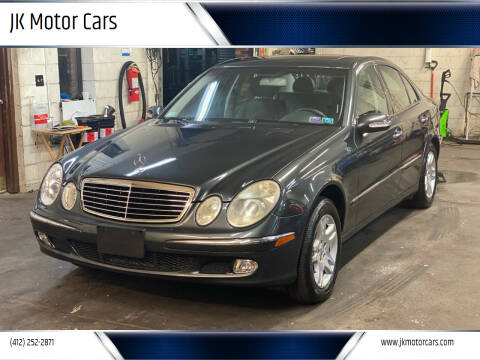 2004 Mercedes-Benz E-Class for sale at JK Motor Cars in Pittsburgh PA