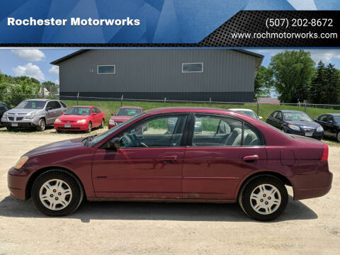 2002 Honda Civic for sale at Rochester Motorworks in Rochester MN