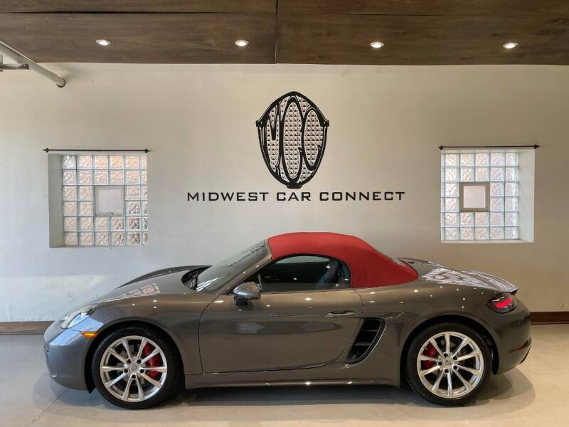 2019 Porsche 718 Boxster for sale at Midwest Car Connect in Villa Park IL