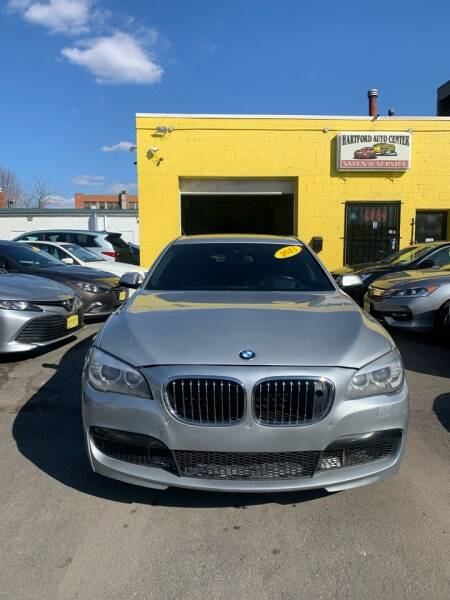 2013 BMW 7 Series for sale at Hartford Auto Center in Hartford CT