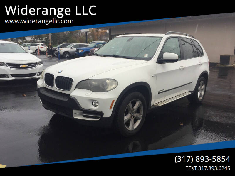 2009 BMW X5 for sale at Widerange LLC in Greenwood IN