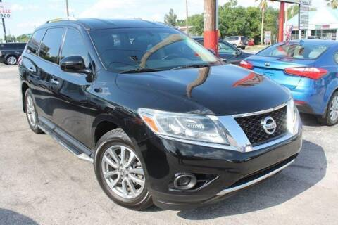 2013 Nissan Pathfinder for sale at Mars auto trade llc in Kissimmee FL