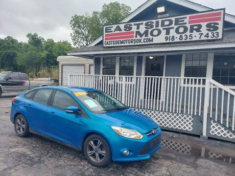 2014 Ford Focus for sale at EASTSIDE MOTORS in Tulsa OK