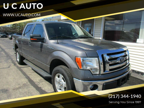 2012 Ford F-150 for sale at U C AUTO in Urbana IL