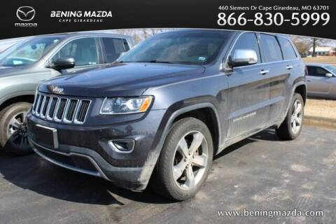 2014 Jeep Grand Cherokee for sale at Bening Mazda in Cape Girardeau MO