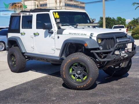 2016 Jeep Wrangler Unlimited for sale at GATOR'S IMPORT SUPERSTORE in Melbourne FL