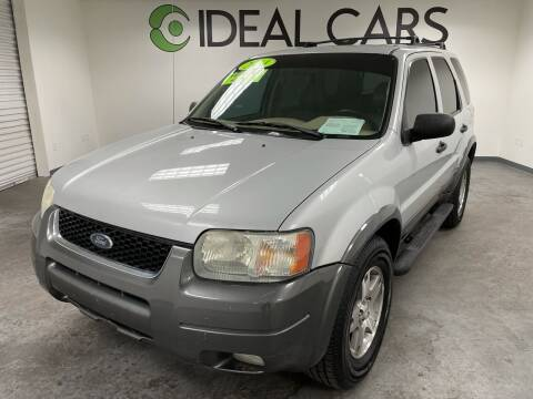 2004 Ford Escape for sale at Ideal Cars in Mesa AZ