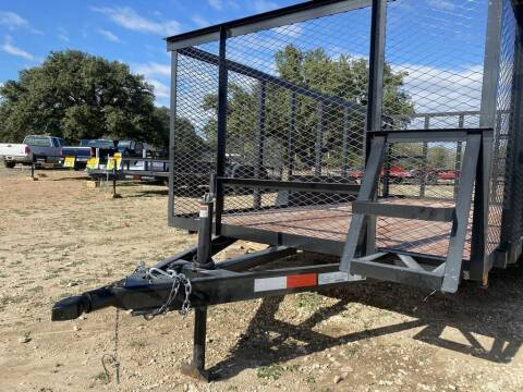 """2020 P & C  - TRASH TRAILER  77"""" X 1 for sale at LJD Sales in Lampasas TX"""