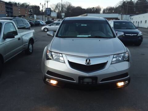 2011 Acura MDX for sale at Auto Villa in Danville VA