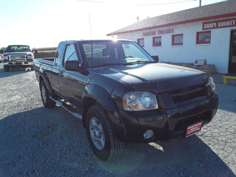2001 Nissan Frontier for sale at Sarpy County Motors in Springfield NE