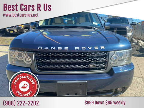 2011 Land Rover Range Rover for sale at Best Cars R Us in Plainfield NJ